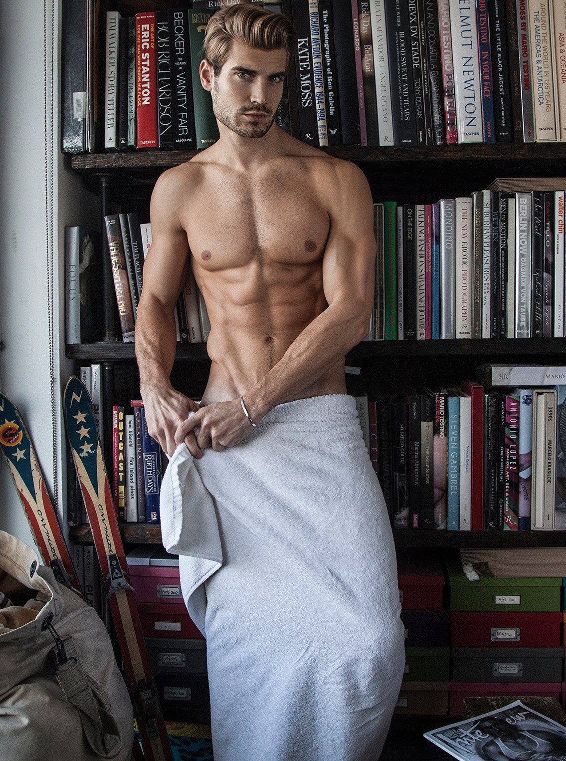Anthony Pecoraro Porn draped in towels - page 28 - themed images - adonismale