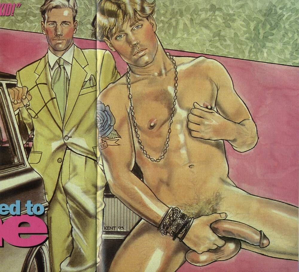 Vintage Gay Erotic Publications for Monday July, 22 2019