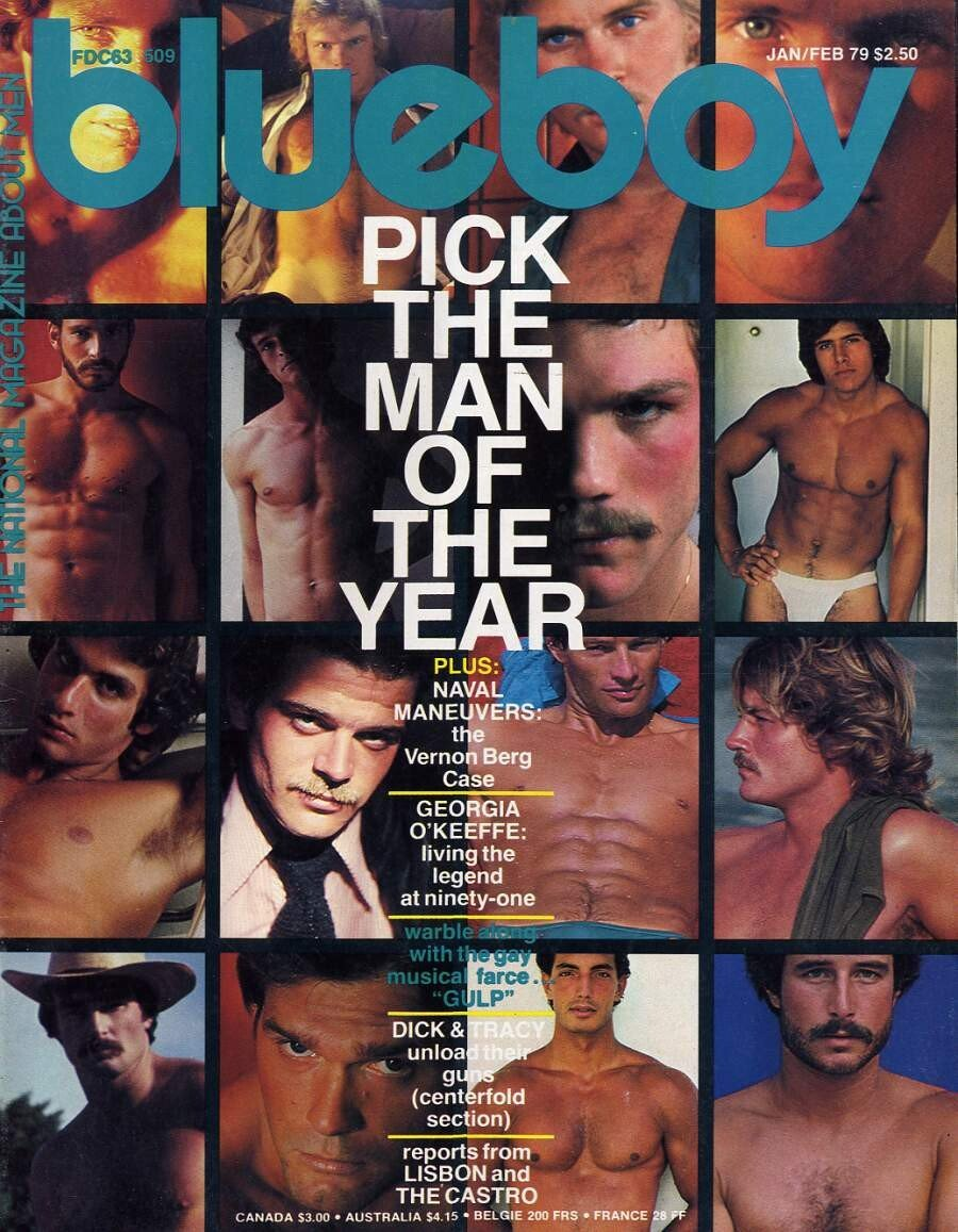 Vintage Gay Erotic Magazines for Thursday July, 18 2019