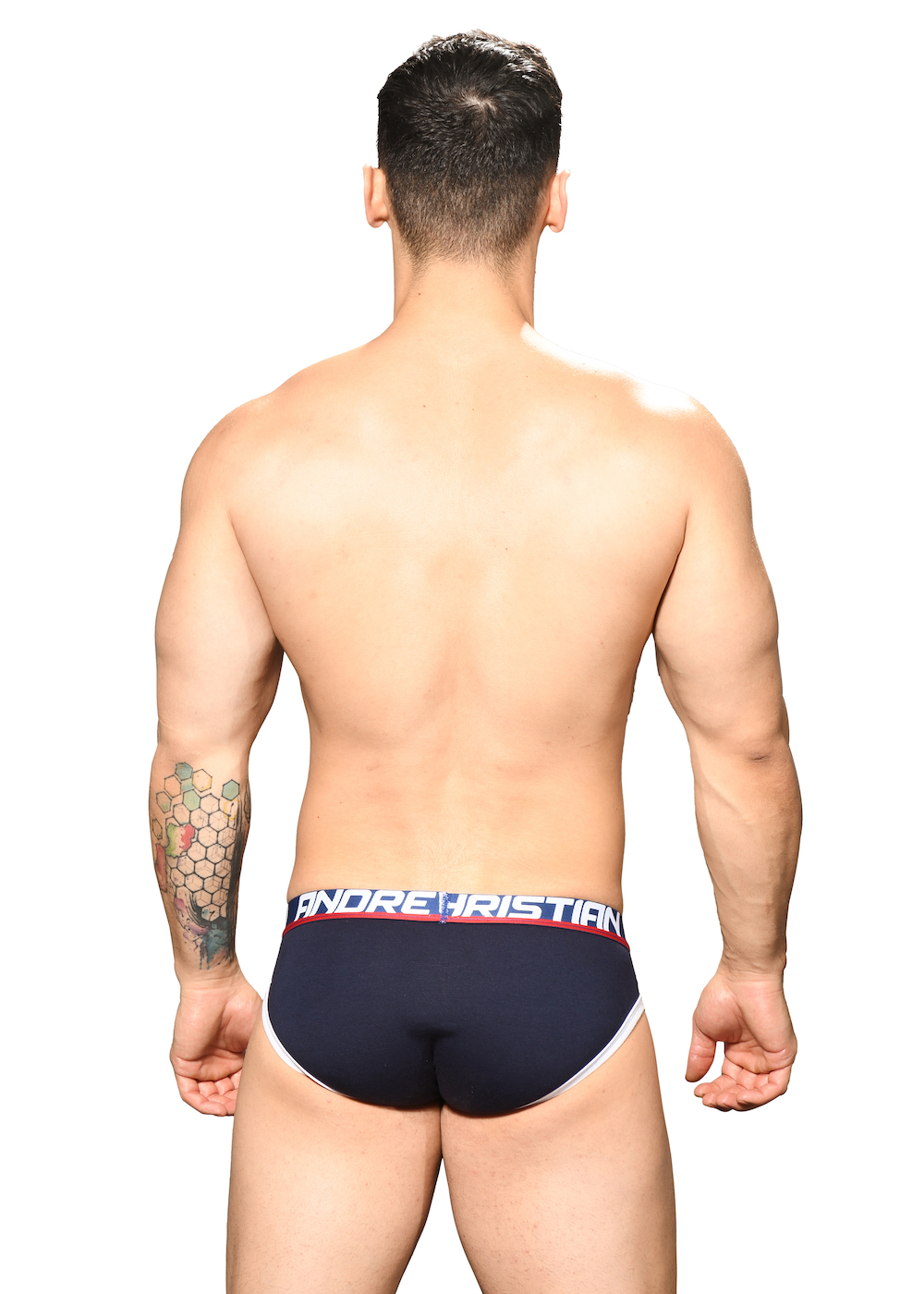 Andrew Christian Almost Naked Fly Tagless Cotton Briefs